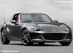 Mazda MX-5 RF 2017 poster, #poster, #mousepad, #tshirt, #printcarposter