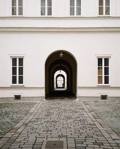 passageway between Siebensterngasse and Burggasse, Vienna Heart Of Europe, Vienna Austria, Flower Pots, Eyewear, Colorful, Places, Instagram Posts, People, Travel