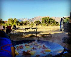 🌞 A great sunny morning @ #brandberg #namibia ready for breakfast #explore #nature and #wildlife #travel #speedcross #salomon