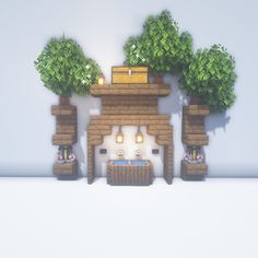 Diy Minecraft, Hacks, Floating Shelves, Clock, Wall, House, Home Decor, Decorating Rooms, Decorations