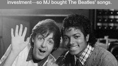 nice Paul McCartney and Michael Jackson - WTF fun facts