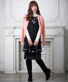 冬のイベントに着たい!ワンピース&ニット / DOLLY GIRL BY ANNA SUI|オンワードグループ公式ファッション通販サイト|ONWARD