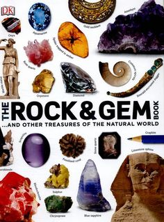 Image result for The rock & gem book : ...and other treasures of the natural world