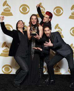 Halestorm - 2013 Grammy winners