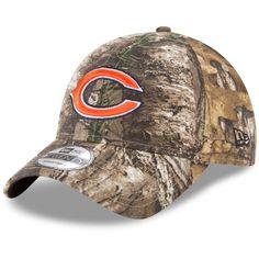 sports shoes c4c86 ae940 Men s Chicago Bears New Era Realtree Camo Realtree 9TWENTY Adjustable Hat,  Your Price   21.99