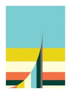 The Curve (Art Print, 2010)