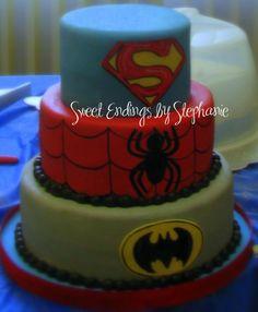 Superhero Cake Decorating Community Cakes We Bake