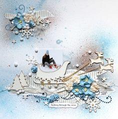 25 nov - Des pages sous le thème de l'hiver
