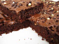 [Receta] Bizcocho de chocolate y calabacín (sin huevos ni lácteos)