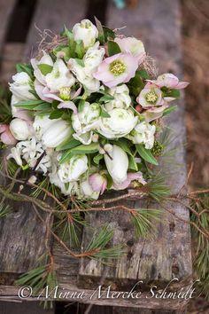 Christmas bouquet @blomsterverkstad /Minna Mercke Schmidt