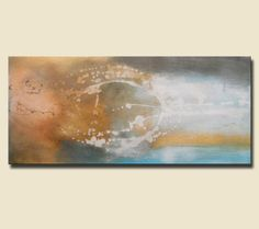 """Artist: Gino Savarino  Title: """"Amusement""""  Size: 38"""" x 16"""" x 3/4""""  Media: Acrylic  Gallery Price: $400  (C.O.A Included)  Support: Canvas   Created: 2012  Edition: Original"""