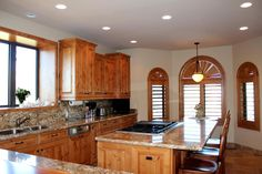 Furnished Kitchen - 203 Bristlecone Pines Rd, West Sedona, Listed with Rob Schabatka from RE/MAX Sedona.