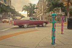 Teje la araña: Miami Yarn