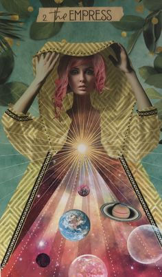 Card of the Day – The Empress – Saturday, July 25, 2020 – Tarot by Cecelia