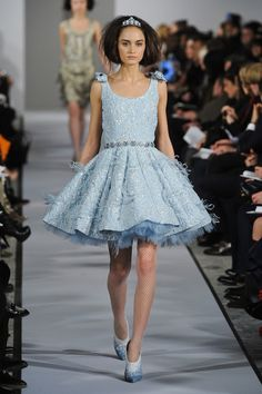 Oscar De La Renta, Fall 2012, New York Fashion Week.