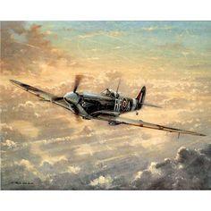 Spitfire della RAF (Royal Air Force) britannica. - Black Camelot -