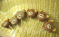 Bear Macarons!