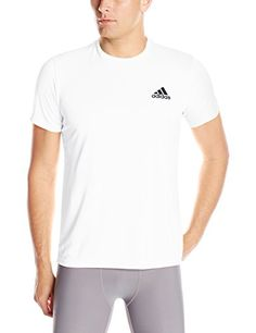 e3d865a861df4 adidas Men s Training Essential Tech Tee Choose your size and color 100%  Other Fibers Imported