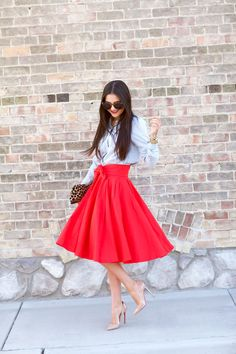 asos-red-midi-skirt