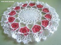 Ring of Love Doily - crochet, handmade