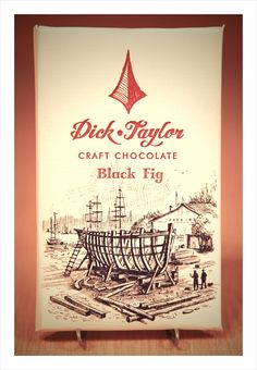 Black Fig by Dick Taylor Craft Chocolate - Dark, rich black mission figs paired with Ecuador highlight the tobacco and tar flavors of the fig. Dick Taylor out of Arcata, CA
