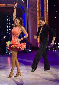 strictly come dancing - Lisa Snowdon and Brendan Cole