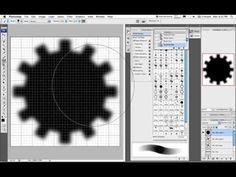▶ How to maak een tandwiel in Photoshop - YouTube