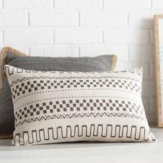 Found it at AllModern - Zoe Linen Lumbar Pillow