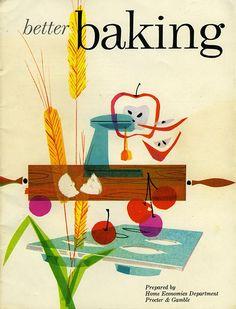 Better Baking from Mid-Century Modern Graphic Design