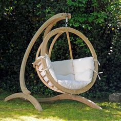 Wooden Swing Chair Outdoor Free Standing Swing Standing Swing Chair Indoor Swing Chair With Stand Indoor Hanging Chair With Stand Free Standing Swing Outdoor Free Standing Wooden Swing Seat Design Hammock Chair Stand, Hanging Chair With Stand, Swing Seat, Swinging Chair, Hanging Hammock, Hanging Chairs, Garden Chairs, Garden Furniture, Outdoor Furniture