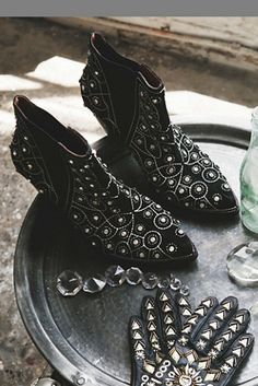 Jeffrey Campbell + Free People Womens After Dark Boot