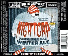 Bridgeport Winter Ale Nightcap Bourbon Barrel, Winter Time, Ale, San Francisco, Inspiration, Winter, Biblical Inspiration, Beer, St Francis