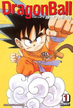 A seminal series from a legendary creator. Dragon Ball , a wry update on the Chinese Monkey King myth, introduces us to Son Go Son Goku, a young monkey-tailed boy whose quiet life is turned upside-dow