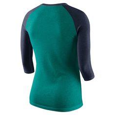 Women s Nike Seattle Mariners Triblend Tee  Seattle b2b4dd1942