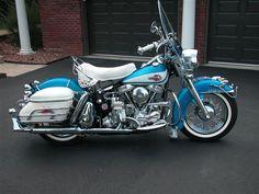 1961 duo glide paint scheme Harley Davidson