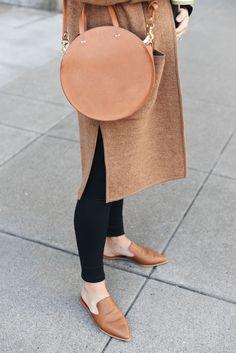 Clare Vivier alistair tan bag