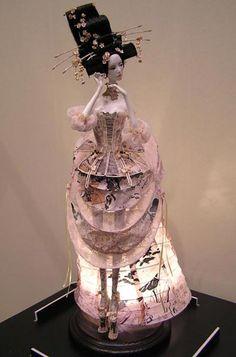 Popovy Dolls -  Fashion Moon Collection. Sajuri - Cherry Blossom