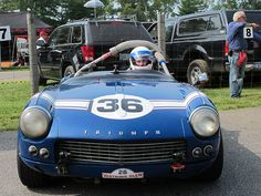 Bilderesultat for triumph spitfire racing stripe