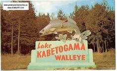 World's Largest Walleye, On Hwy 53 near Lake Kabetogama