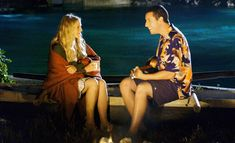Romantic Hawaiian Night Adam Sandler with Drew Barrymore (Movie- 50 First Dates) Dirty Dancing, Pulp Fiction, Ukulele, Movies Showing, Movies And Tv Shows, Love Movie, Movie Tv, Josh Boone, First Date Conversation