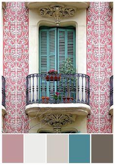 Barcelona in Color