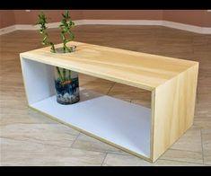 Modern Plywood Table