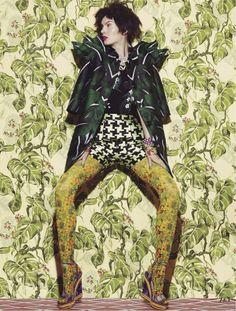 busy bodies: anastasija kondratjeva by jamie nelson for fashion canada