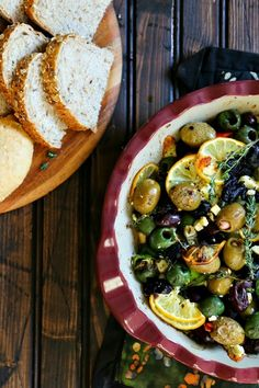 Garlic Roasted Olive