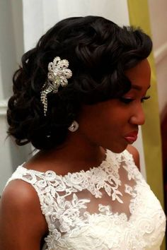 Bridal Hairstyles (for black women)
