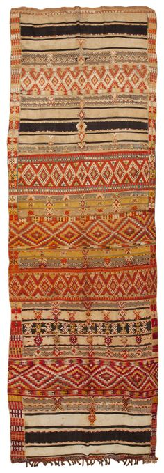 View this beautiful mid 20th century vintage Moroccan rug 45411 from Nazmiyal's fine antique rugs and decorative carpet collection.