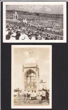 St Paul-MN-Eucharistic Congress-Mass-Religious-Postcard | eBay