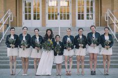 Школа дом свадьбы с безукоризненно прохладный Стиль | черный и оттенок фотографии