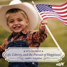 Happy Independence Day! Like and share to celebrate America's birthday! via eBay on Facebook: http://www.facebook.com/eBay