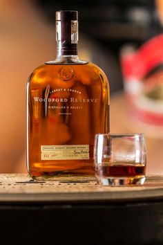 Love some Woodford Reserve... this bourbon is a fabulous caramel pallet and I believe would be awesome over ice cream...